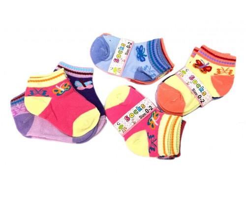 Girls Socks 0-2 $5.50 Each Dz.