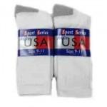 Men's/Boys Crew Socks 9-11 $8.00 Each Dozen