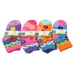 Girls Asst. Socks 2-4 $5.50 Each Dz.