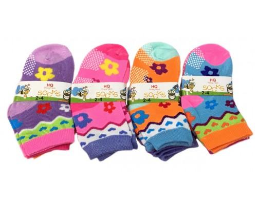 Girls Asst. Socks 2-4 $5.50 Each Dz.