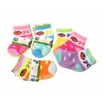 Girls Asst. Socks 0-2 $5.50 Each Dz.