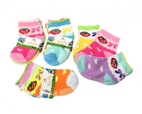 Wholesale Girls Socks Size 0-2