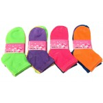 Girls Socks 2-4 $5.50 Each Dozen