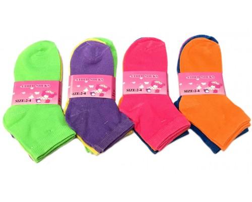 Wholesale Girls Socks Size 2-4