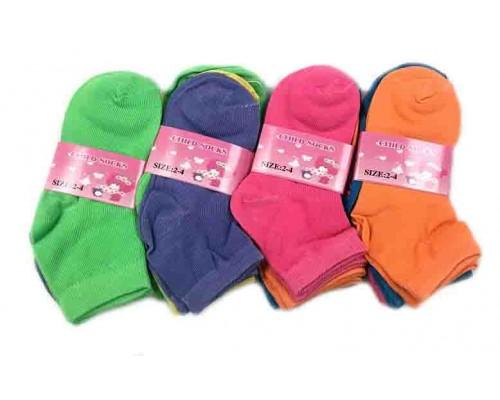 Wholesale socks 2-4 $5.50 Each Dozen