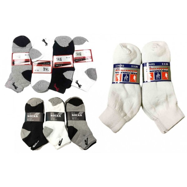 Wholesale Ankle Socks Size 9-11