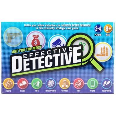 Effective Detective Game