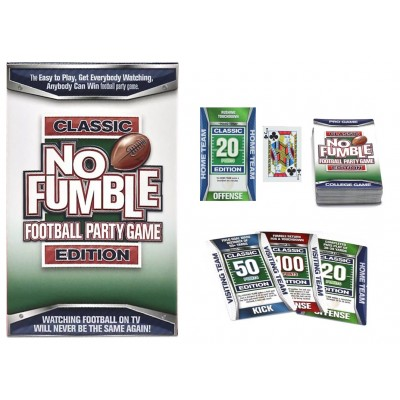 No Fumble Football Party Game Classic Edition