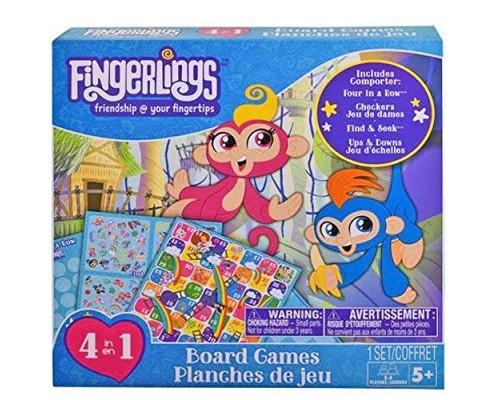 Fingerlings 4 in 1 Board Game