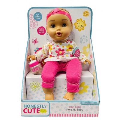 Honestly Cute Feed My Baby Doll