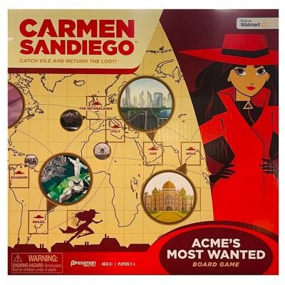Carmen Sandiego Board Game