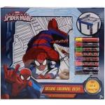 Spider-Man Deluxe Coloring Desk