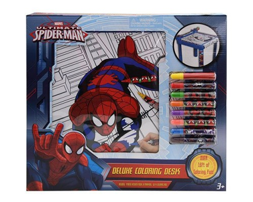 Spider-Man Deluxe Coloring Desk