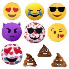 Emoji Plush Pillows