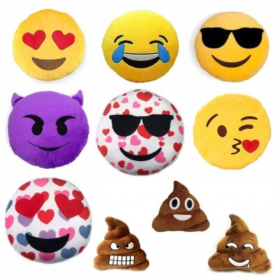 Emoji Plush Pillows