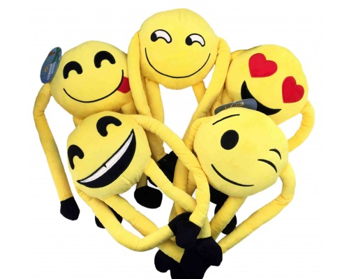 Emoji Pillow Monkeys