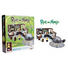 Rick And Morty 293 Pcs. Spaceship and Garage