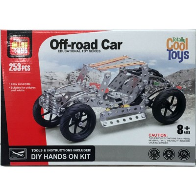 DIY Cool Toys Off-Road Car 253 Pcs.