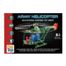 DIY Totally Cool Toys Army Helicopter