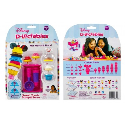 Disney D-lectables Sweet Treats Scoop & Serve Collection