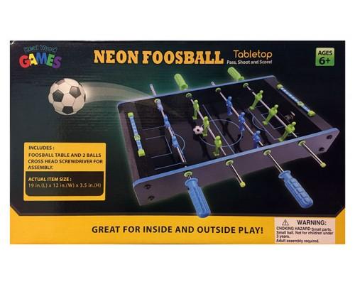 Tabletop NEON Foosball