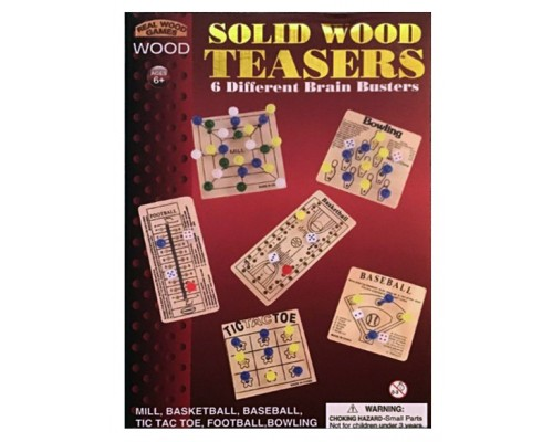 Solid Wood Teaser Games