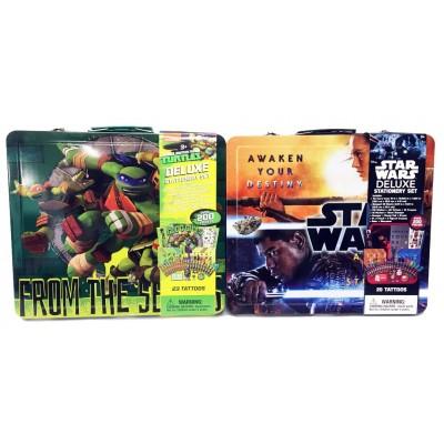 Star Wars / TMNT Stationary Art Sets