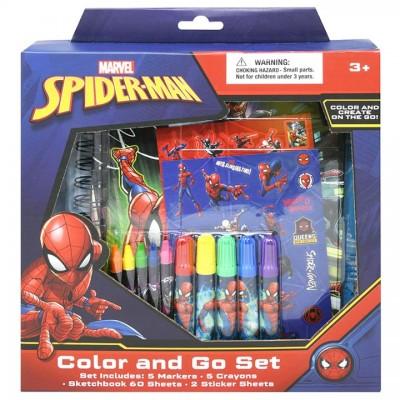 Spider-Man Color & Go Set
