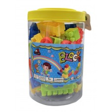 62 Pc. Building Blocks Bucket