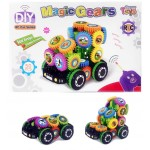 50 Pc. Magic Gears R/C Car