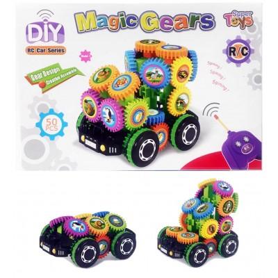 DIY R/C Magic Gears 50 Pc. Car
