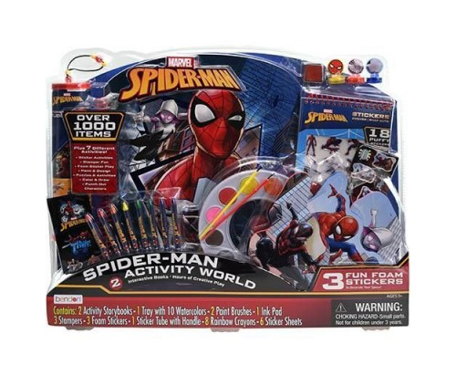 Spider-Man Giant Art & Activity Tray Set
