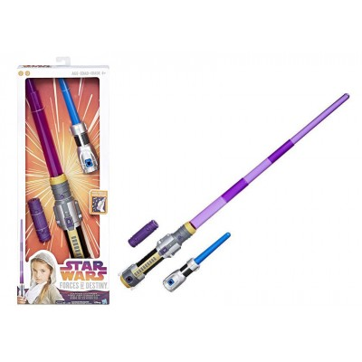 Star Wars Forces of Destiny Jedi Power Lightsaber