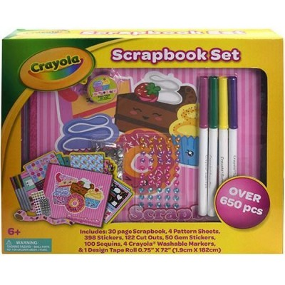 Crayola Scrapbook Set