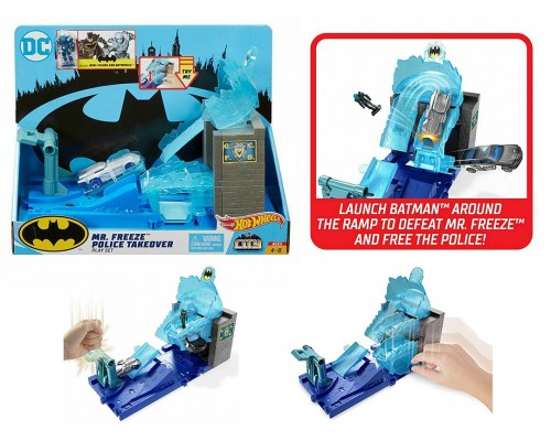 Hot Wheels DC Batman Mr. Freeze Police Takeover