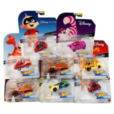 Disney Character Cars Hot Wheels