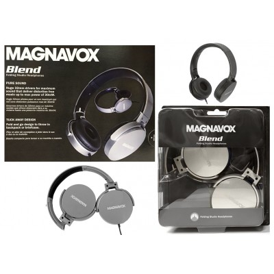 Magnavox Folding Studio Headphones
