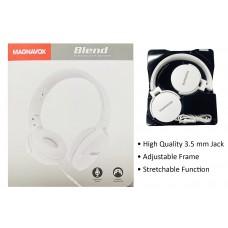 Magnavox Folding Studio Headphones w/ Microphone