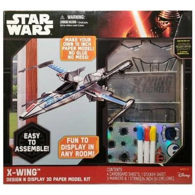 Star Wars Design N Display 3D Paper Model KIT