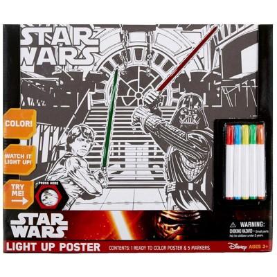 Star Wars Light Up Poster