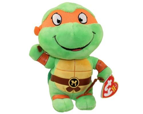 "TY Beanie Buddy Michelangelo 8"""