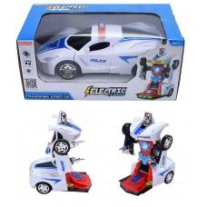 B/O Deform Transformable Police Cruiser