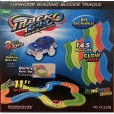 B/O Glowing Laser Track Set