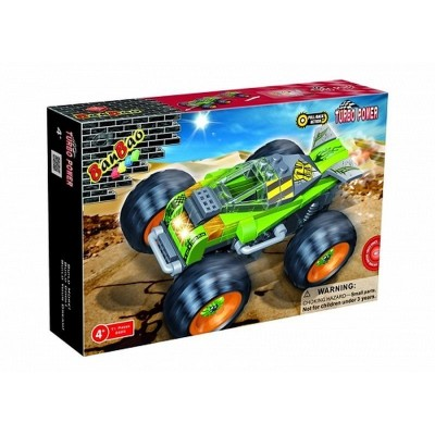 Friction Thunder Race Car Set