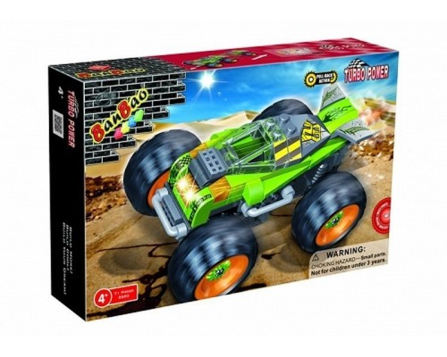 Friction Thunder Race Car Set