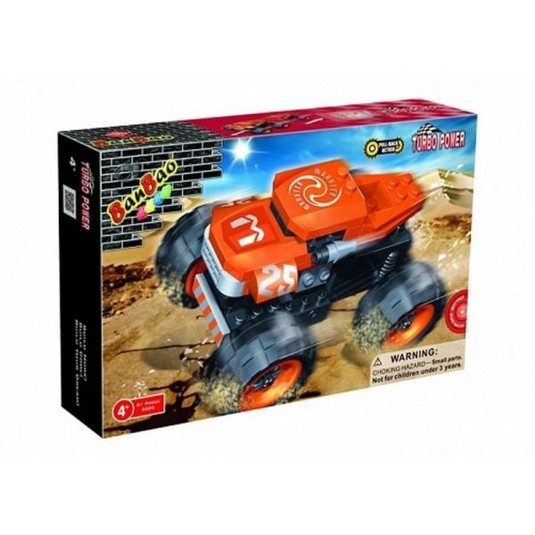 Friction Monster Race Car Set