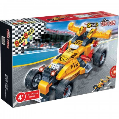 Friction Invincibility Race Car Set