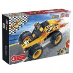 Friction Bulldog Race Car Set