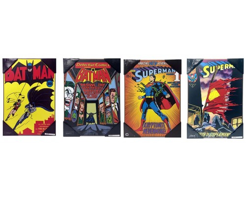 DC Comics Wall-Art Set