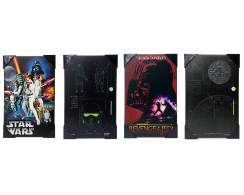 Star Wars Wall-Art Set of 4